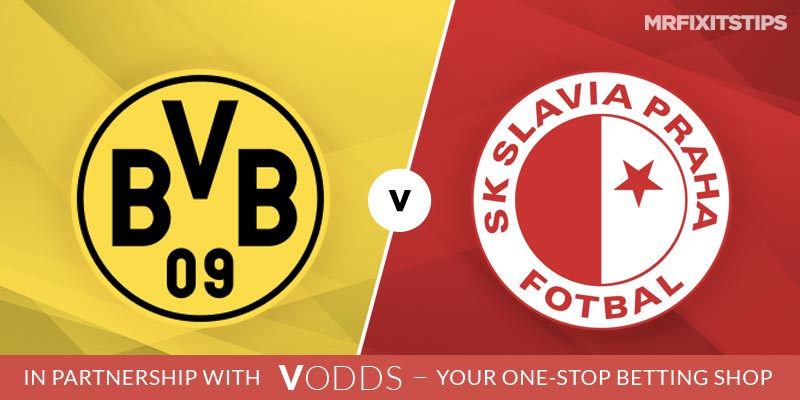 Borussia Dortmund vs Slavia Prague Betting Tips and Predictions