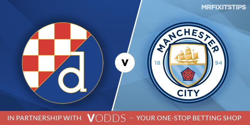 Dinamo Zagreb vs Manchester City Betting Tips and Predictions
