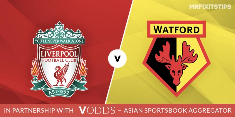 Liverpool vs Watford Betting Tips and Predictions