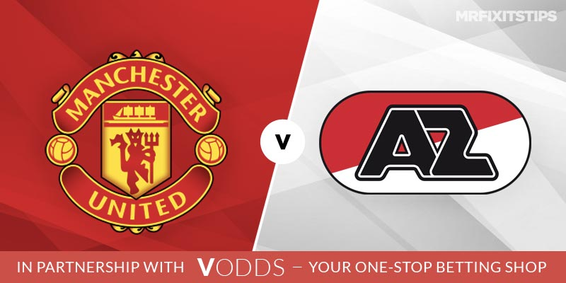 Manchester United vs AZ Alkmaar  Betting Tips and Predictions