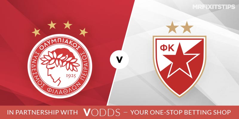 Olympiakos vs Red Star Belgrade Betting Tips and Predictions