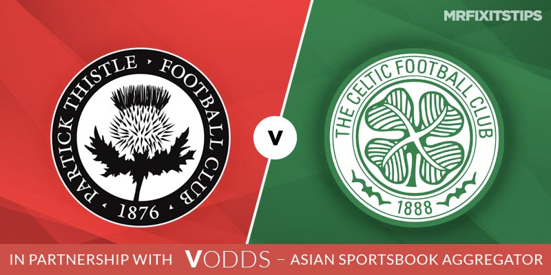 Partick Thistle vs Celtic Betting Tips and Predictions