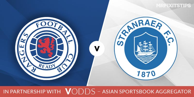 Rangers vs Stranraer Betting Tips and Predictions