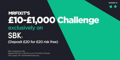 My £10-£1000 Challenge starts tonight on SBK