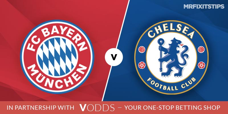 Bayern Munich vs Chelsea Prediction and Betting Tips