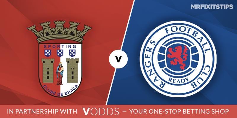 SC Braga vs Rangers Betting Tips and Predictions