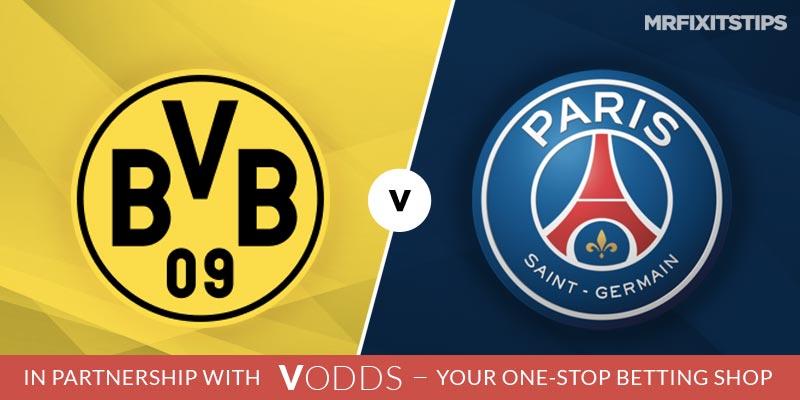Borussia Dortmund vs PSG Betting Tips and Predictions