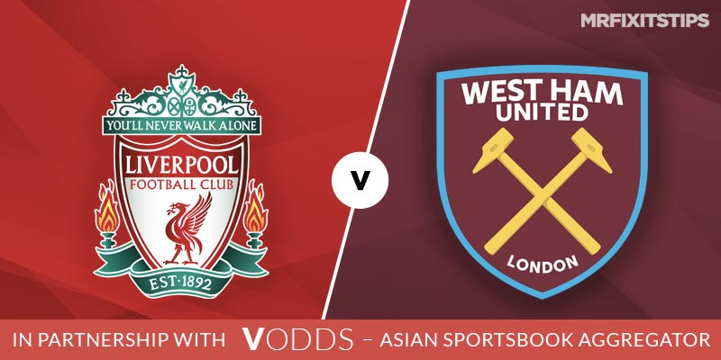 Liverpool vs West Ham Betting Tips and Predictions