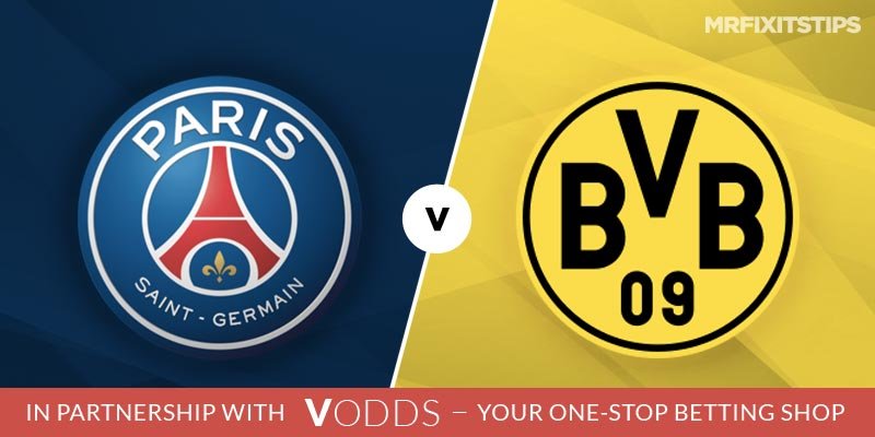 PSG vs Borussia Dortmund Betting Tips and Predictions