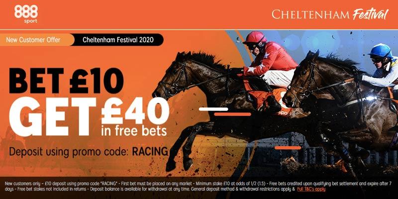 888 Sport Cheltenham Offer