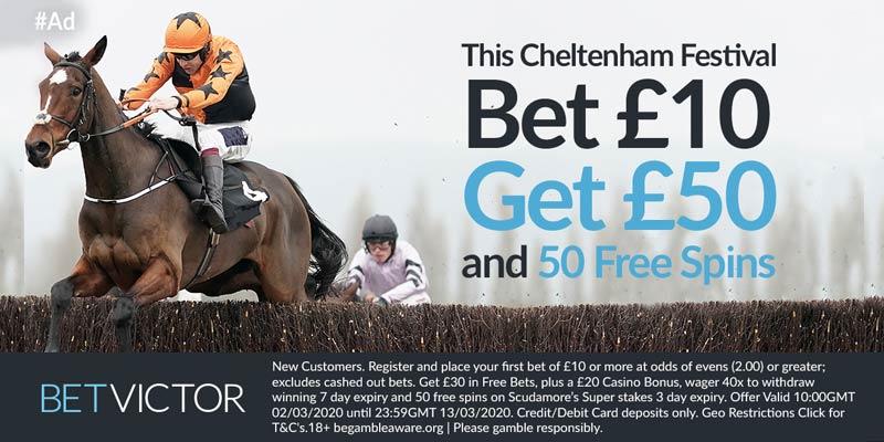 BetVictor Cheltenham Offer