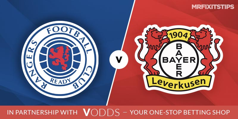 Rangers vs Bayer Leverkusen Betting Tips and Predictions