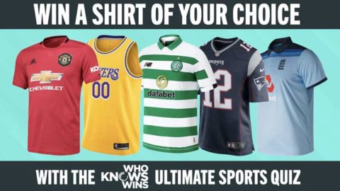 Play the @WhoKnowsWins Quiz – Win a Shirt of Your Choice