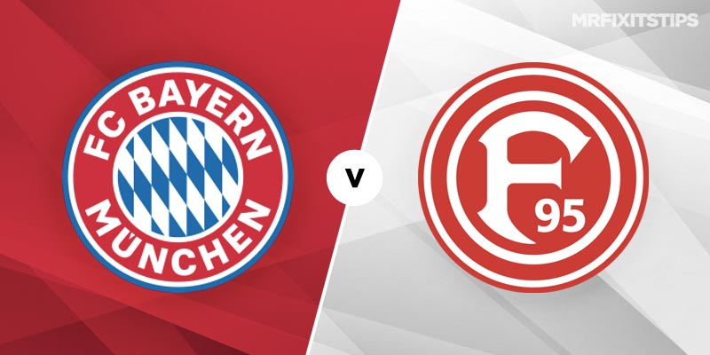 Bayern Munich vs Fortuna Dusseldorf Betting Tips and Predictions