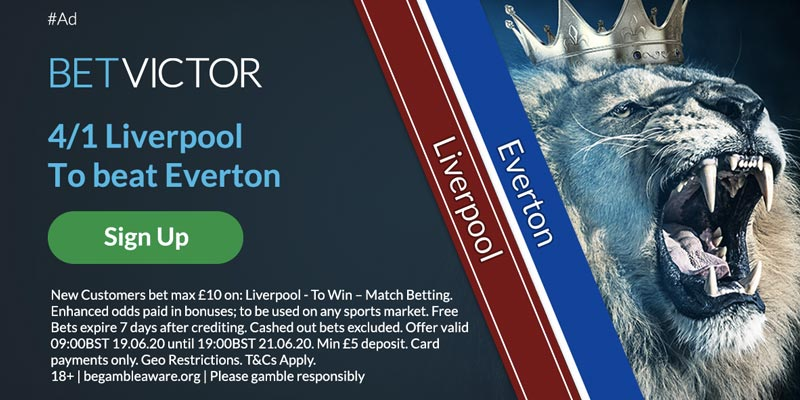 Everton v Liverpool Offer
