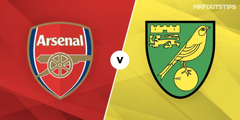 Arsenal vs Norwich City Prediction and Betting Tips