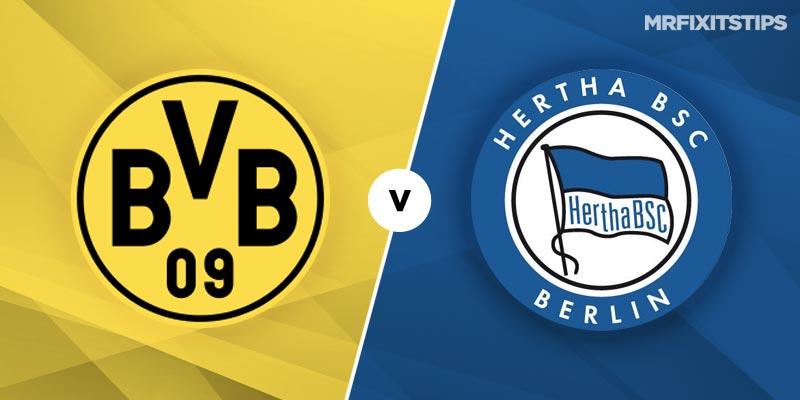 Borussia Dortmund vs Hertha Berlin Betting Tips and Predictions