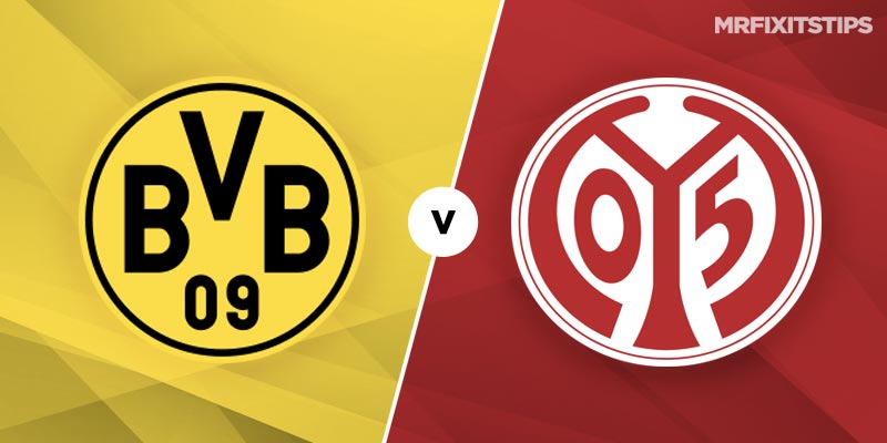 Borussia Dortmund vs Mainz Betting Tips and Predictions