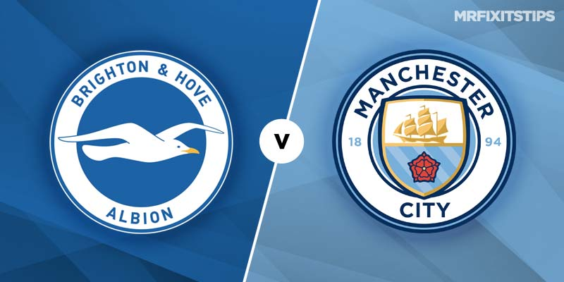 Brighton and Hove Albion vs Manchester City Prediction and ...