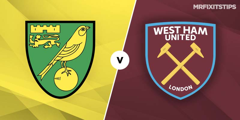 Norwich City vs West Ham United Prediction and Betting Tips