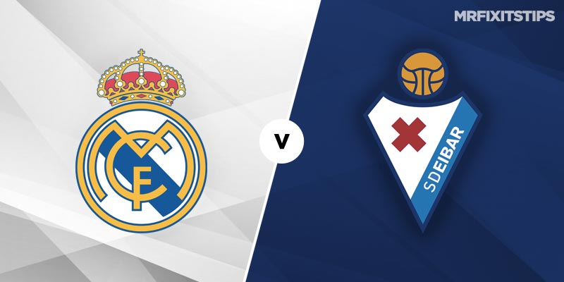 Real Madrid vs Eibar Betting Tips and Predictions