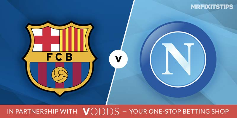Barcelona vs Napoli Champions League