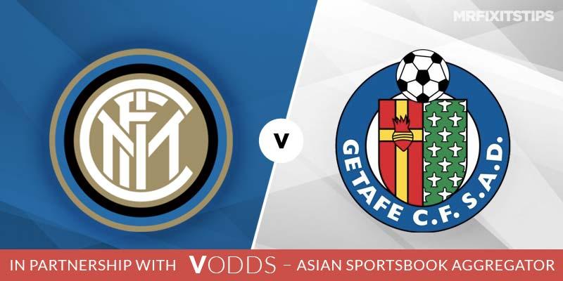 Inter vs Getafe Prediction and Betting Tips
