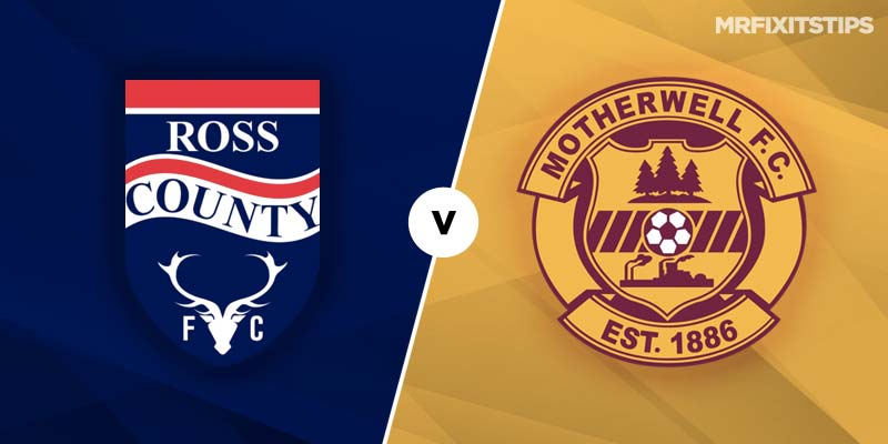 Ross County vs Motherwell Prediction and Betting Tips