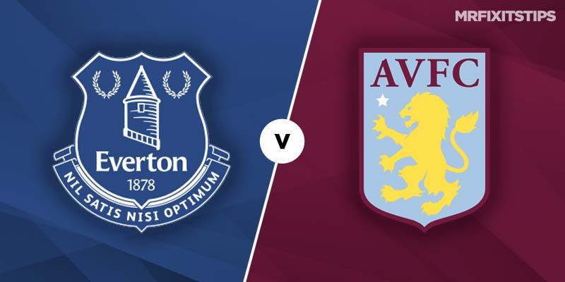 Everton vs Aston Villa Prediction and Betting Tips