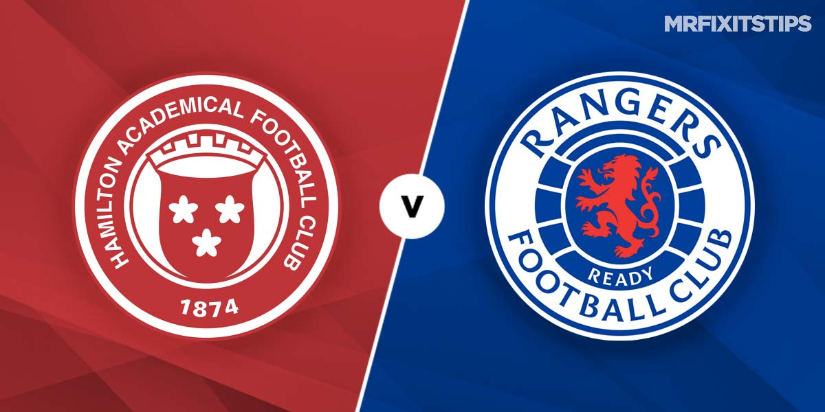 Hamilton vs Rangers Prediction and Betting Tips
