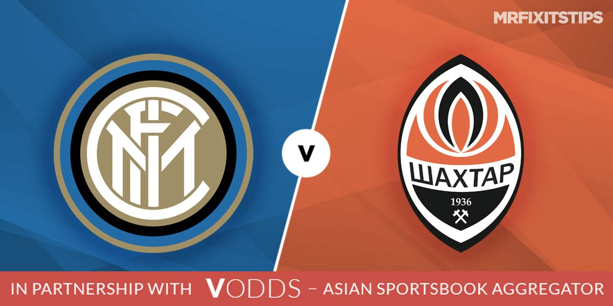 Inter vs Shakhtar Donetsk Prediction and Betting Tips