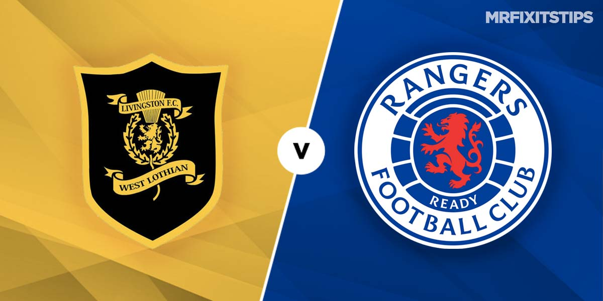 Livingston vs Rangers Prediction and Betting Tips