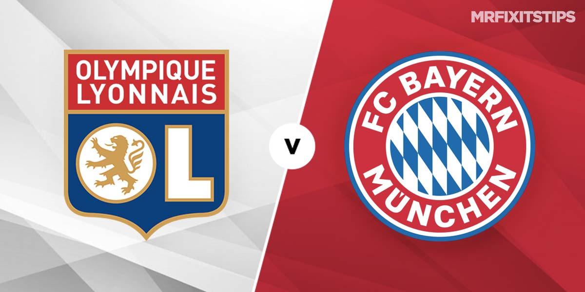 Lyon vs Bayern Munich Prediction and Betting Tips