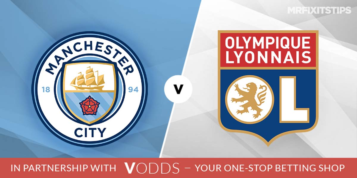 Manchester City vs Lyon Prediction and Betting Tips