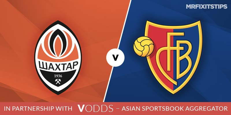 Shakhtar Donetsk vs Basel Prediction and Betting Tips