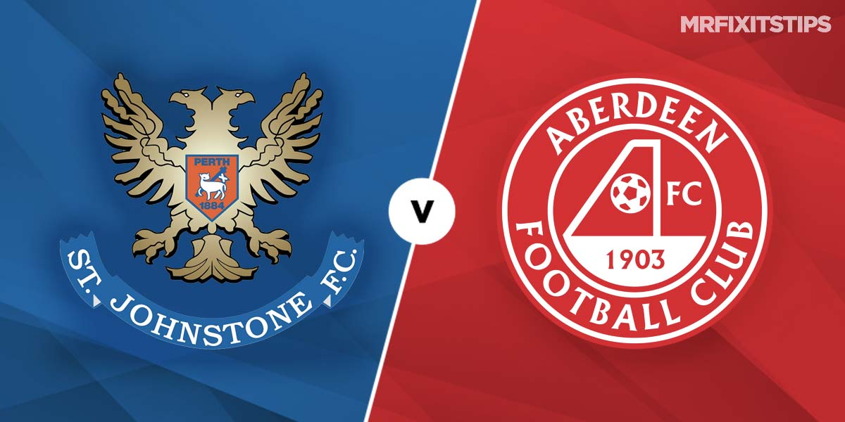 St Johnstone vs Aberdeen Prediction and Betting Tips
