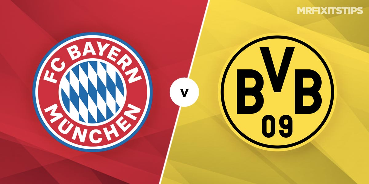 Bayern Munich vs Borussia Dortmund Prediction and Betting Tips