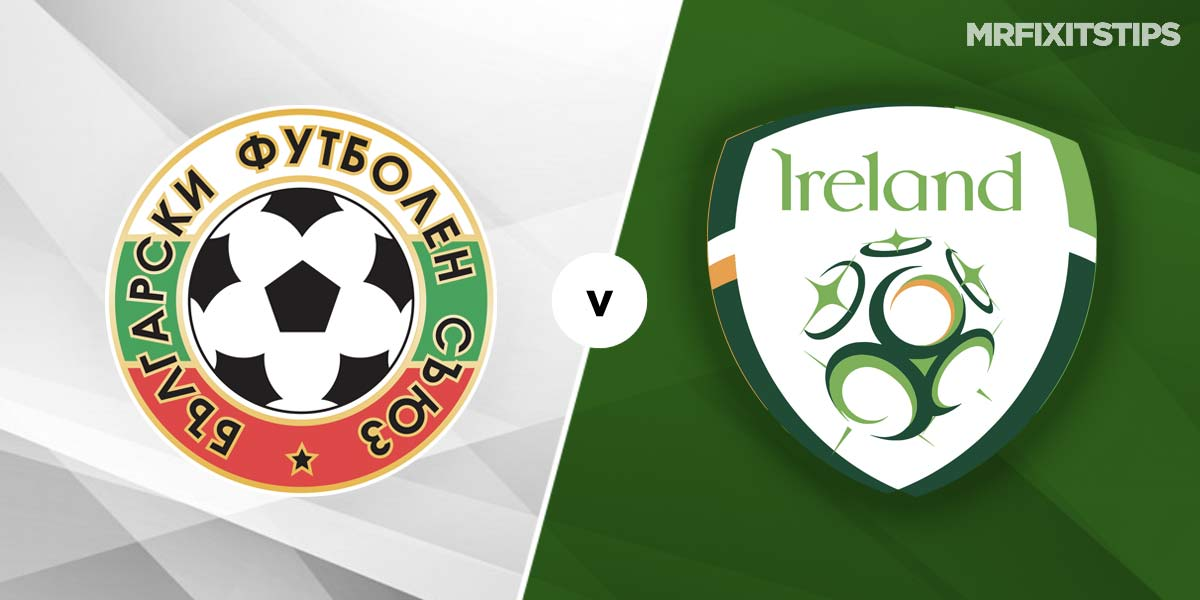 Bulgaria vs Republic of Ireland Prediction and Betting Tips