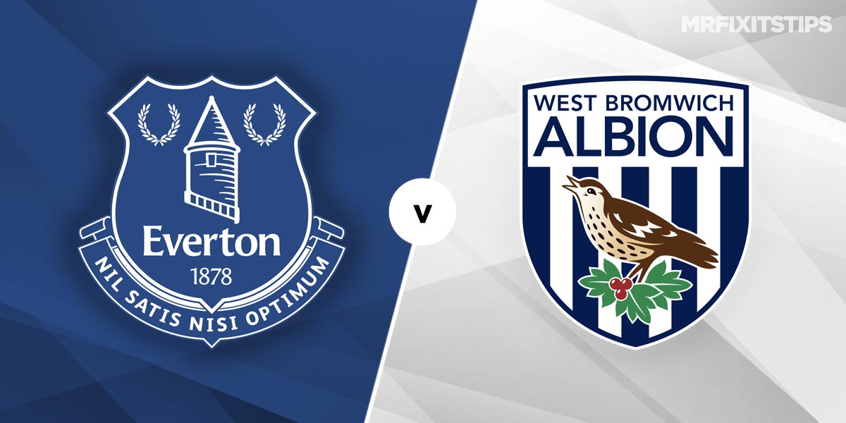 Everton vs West Bromwich Albion Prediction and Betting Tips