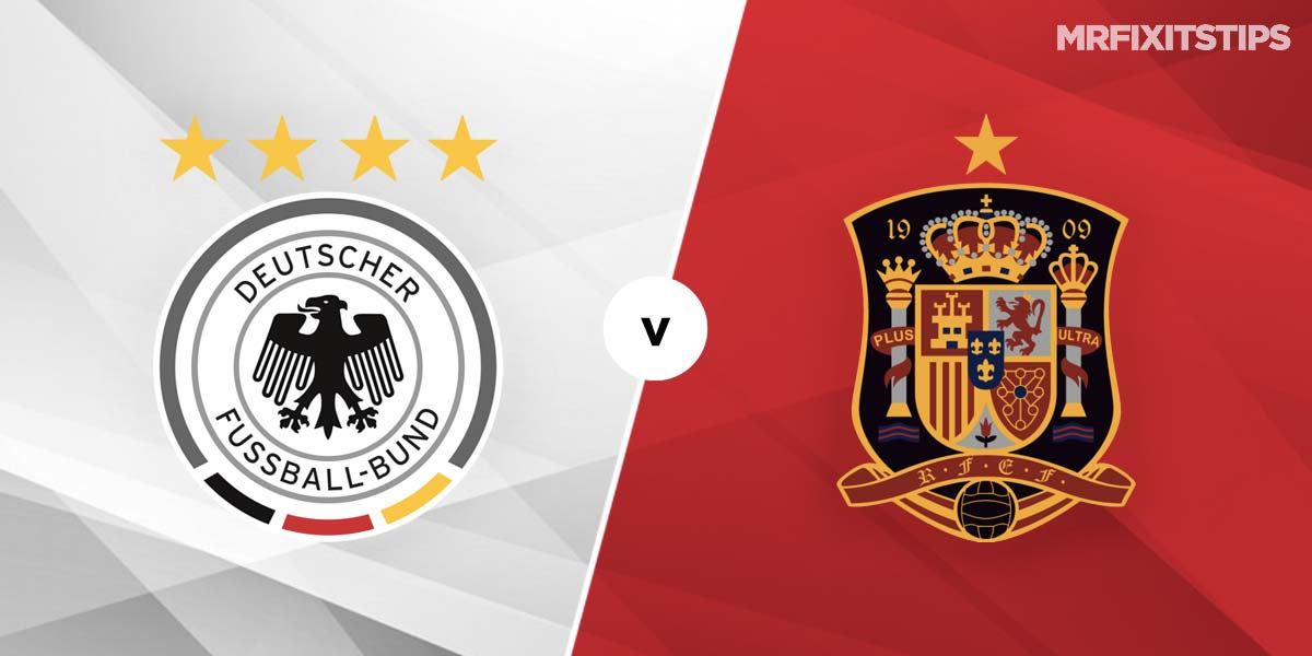 Germany vs Spain Prediction and Betting Tips