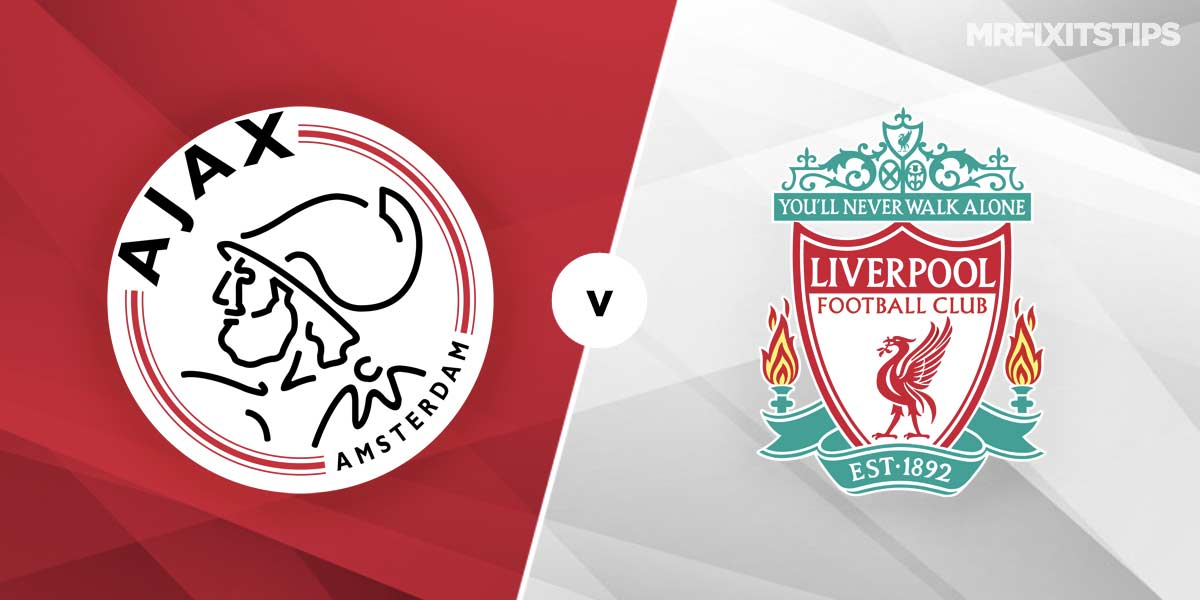 Ajax vs Liverpool Prediction and Betting Tips