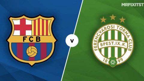 Barcelona vs Ferencvaros Prediction and Betting Tips