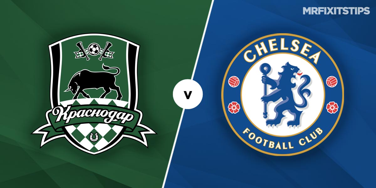 FK Krasnodar vs Chelsea Prediction and Betting Tips