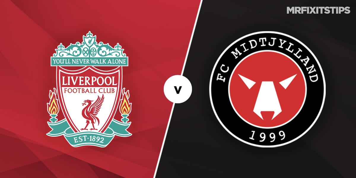 Liverpool vs FC Midtjylland Prediction and Betting Tips