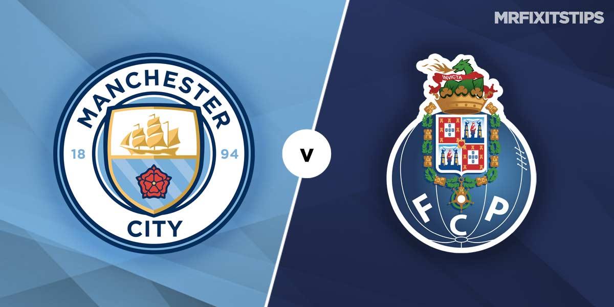 Man City vs Porto Prediction and Betting Tips