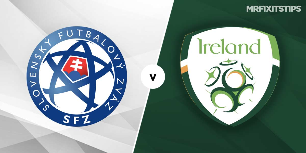 Slovakia vs Republic of Ireland Prediction and Betting Tips
