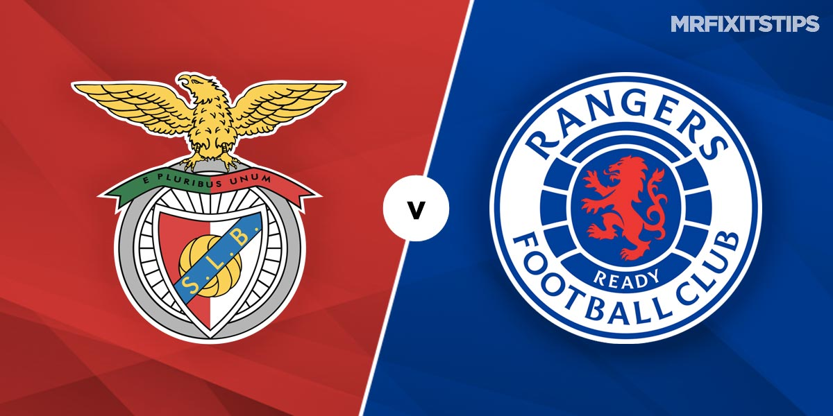 Benfica vs Rangers Prediction and Betting Tips