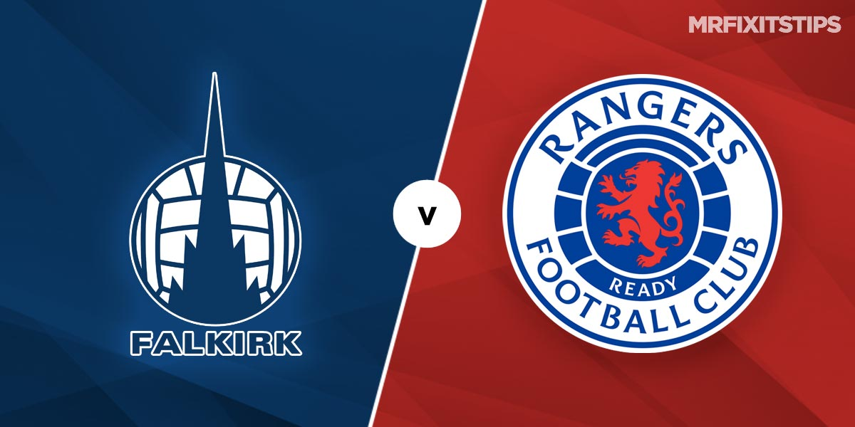 Falkirk vs Rangers Prediction and Betting Tips