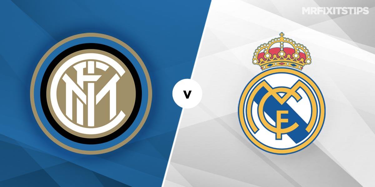 Inter Milan vs Real Madrid Prediction and Betting Tips
