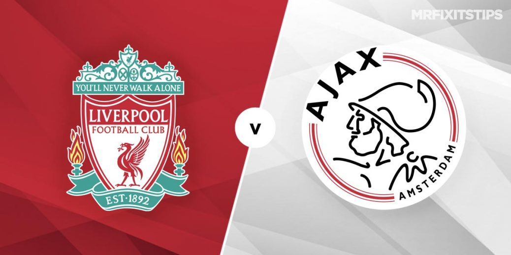 Liverpool Vs Ajax Prediction And Betting Tips Mrfixitstips